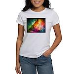 Abstract Full Moon Spectrum T-Shirt