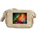 Abstract Full Moon Spectrum Messenger Bag