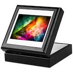 Abstract Full Moon Spectrum Keepsake Box