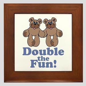 Double the Fun Framed Tile