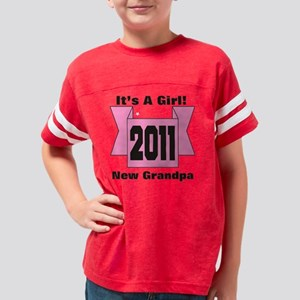 cp2011pinkgrandpa Youth Football Shirt