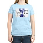 Bat Tzion Women's Pink T-Shirt