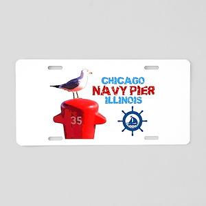 NAVY PIER-CHICAGO-1 Aluminum License Plate