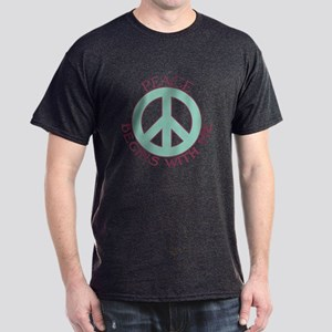 Peace Begins With Me Dark T-Shirt