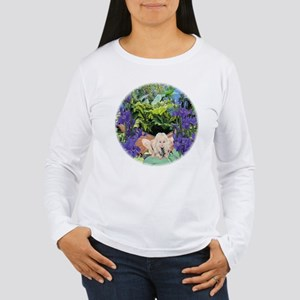Blue Iris Fairy Women's Long Sleeve T-Shirt