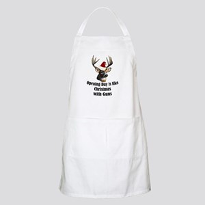 Opening day is like christmas BBQ Apron