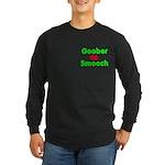 Goober Smooch Long Sleeve Dark T-Shirt