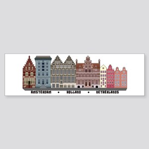 Amsterdam Holland Bumper Sticker