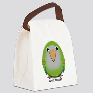 Quaker (Monk) Parakeet Canvas Lunch Bag