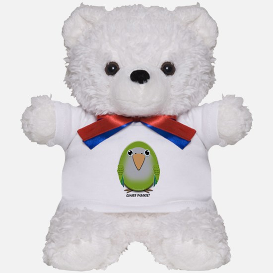 Quaker (Monk) Parakeet Teddy Bear
