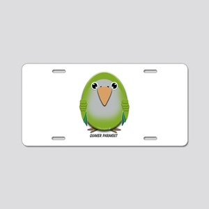Quaker (Monk) Parakeet Aluminum License Plate