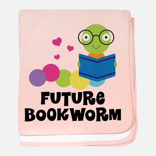 Future Bookworm baby blanket