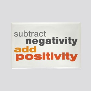Subtract Negativity Add Positivity Rectangle Magne