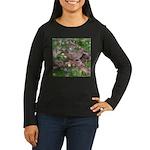 Towhee Women's Long Sleeve Dark T-Shirt