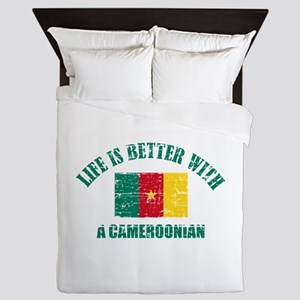 Life is better with a Cameroonian Queen Duvet