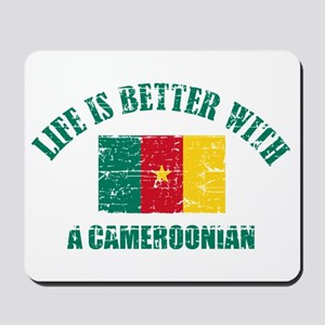 Life is better with a Cameroonian Mousepad