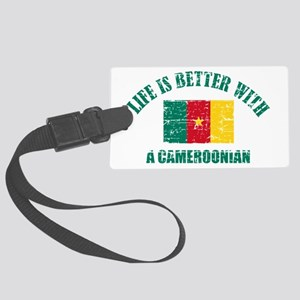 Life is better with a Cameroonian Large Luggage Ta