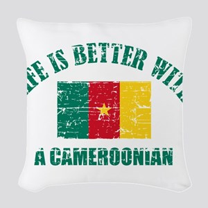 Life is better with a Cameroonian Woven Throw Pill
