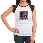 Tort Calico Women's Cap Sleeve T-Shirt