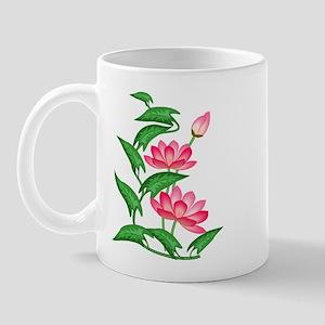 Pink Lillies Mug