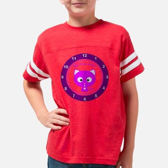 my_pk_kit_clock Youth Football Shirt