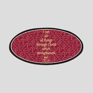 Philippians 4:13 IXOYE Rose Patches