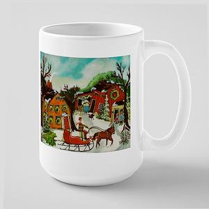 Fetching the Christmas Tree Mugs