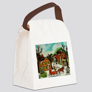 The Christmas Tree Canvas Lunch Bag
