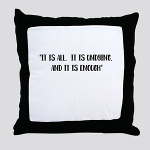 It is all Outlander Throw Pillow