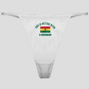 Life is better with a Ghanaian Classic Thong