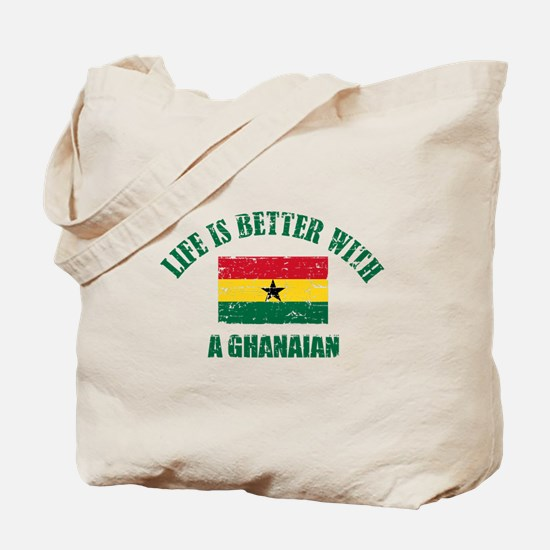 Life is better with a Ghanaian Tote Bag