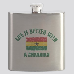 Life is better with a Ghanaian Flask
