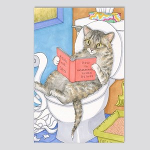 Cat 535 Postcards (Package of 8)