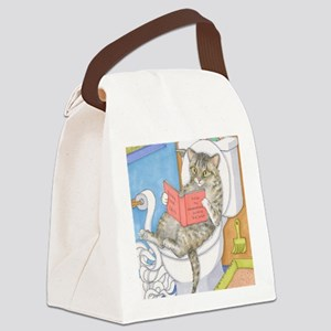 Cat 535 Canvas Lunch Bag