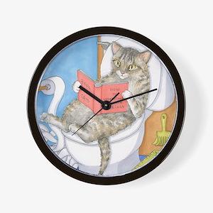 Cat 535 Wall Clock