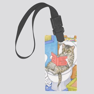 Cat 535 Large Luggage Tag