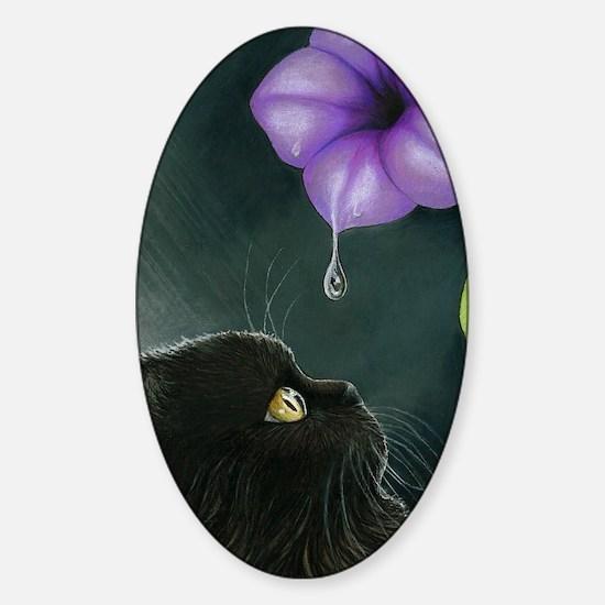 Cat 514 Sticker (Oval)