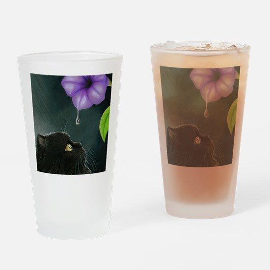 Cat 514 Drinking Glass