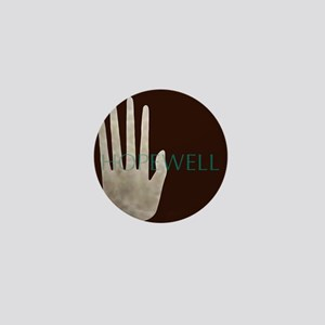 Hopewell Mound Mica Hand Mini Button