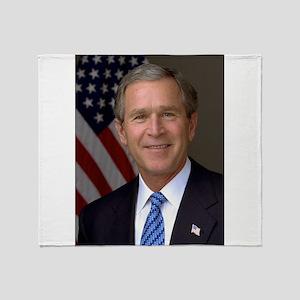 President George Bush Throw Blanket