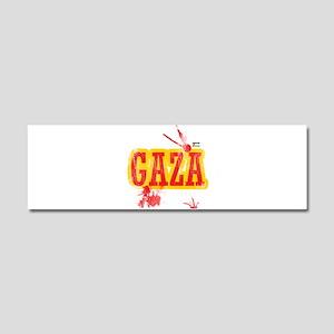 Gaza blood T shirts Car Magnet 10 x 3