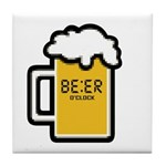 Beer O Clock Tile Coaster