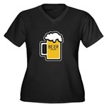 Beer O Clock Plus Size T-Shirt