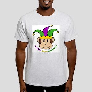 Mardi Gras Ash Grey T-Shirt