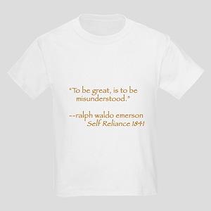 Ralph Waldo Emerson Kids T-Shirt