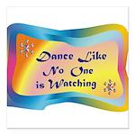 dance LIKE....png Square Car Magnet 3