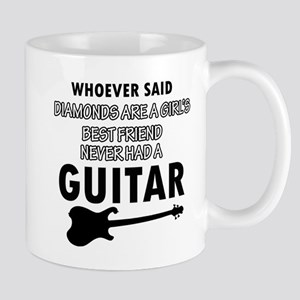 Electric Guitar better than Diamonds Mug