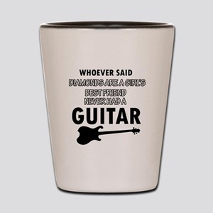 Electric Guitar better than Diamonds Shot Glass