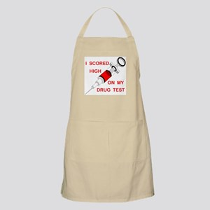 DRUG TEST BBQ Apron