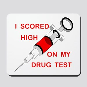 DRUG TEST Mousepad